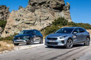 Συγκριτική δοκιμή: Fiat Tipo Cross 1.0 Τ vs Kia XCeed 1.6D Auto - NewsAuto.gr